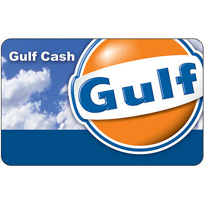 $10 / $25 / $50 Gulf Gas Gift Card - Mail Delivery