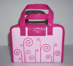 Image is loading LeapFrog-LeapPad-Fashion-Handbag-Carrying-Case-Pink-with- cc6dfe223d3a9