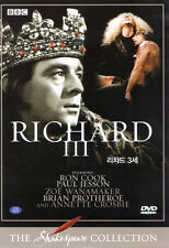 Shakespeare Richard III / 3rd BBC Collection - Ron Cook 2 Disc DVD Set (new)