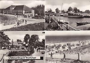 Ostseebad Prerow , Ansichtskarte, 1980 gelaufen - Rostock, Deutschland - Ostseebad Prerow , Ansichtskarte, 1980 gelaufen - Rostock, Deutschland