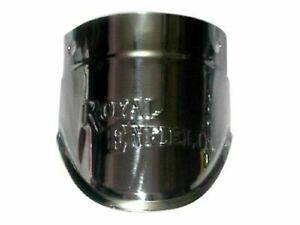 Royal-Enfield-en-relieve-Frontal-Guardabarros-Barro-Aleta-extension-de-cromo