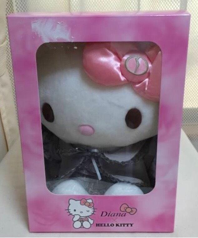 Hello Kitty Diana Plush  bambola Limited Sanrio Japan Stuffed Cute kawaii nuovo Rare  Felice shopping