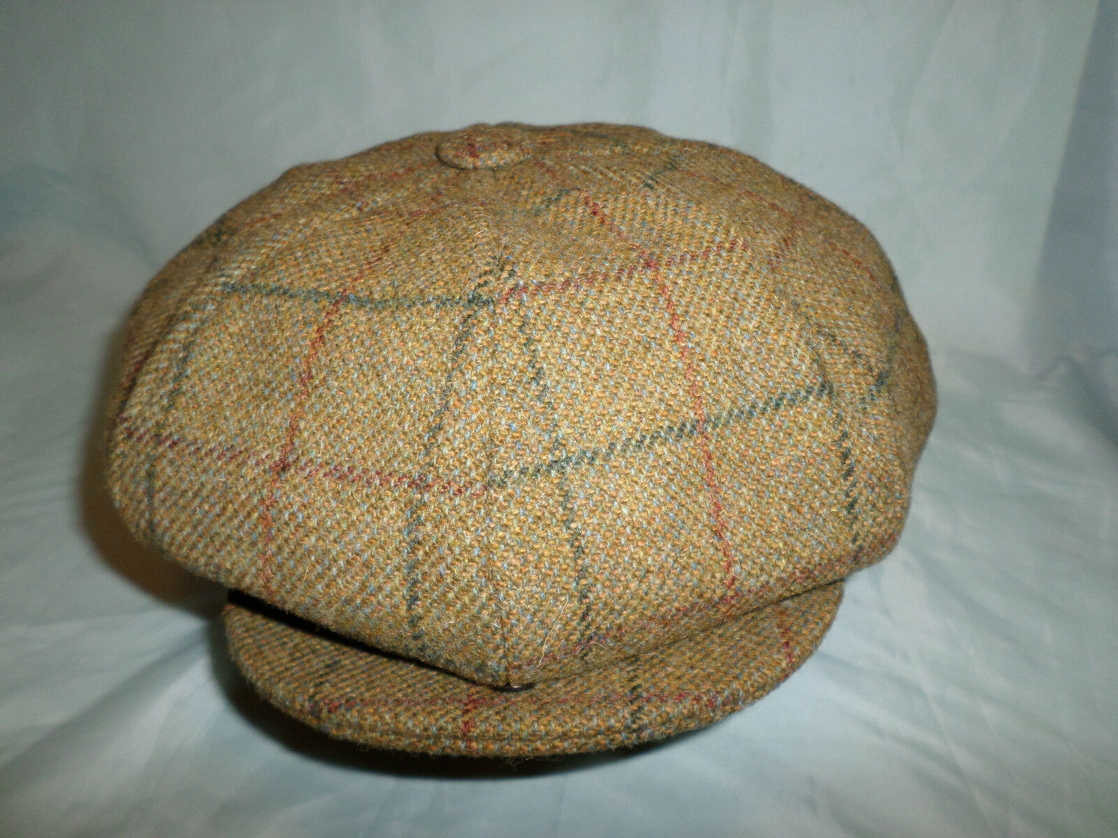 GENTS OVER SIZED 12  BIG APPLE RETRO 20'S 30'S NEWSBOY GATSBY 8 PANELS CAP