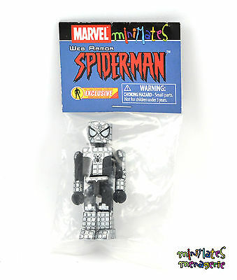 Marvel Minimates AFX Exclusive Web Armor Spider-Man Sealed Promo