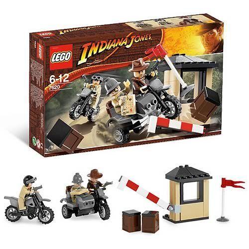 BRe nuovo Lego Indiana  Jones Last Crusade MOTORCYCLE CHASE 7620  100% di contro garanzia genuina