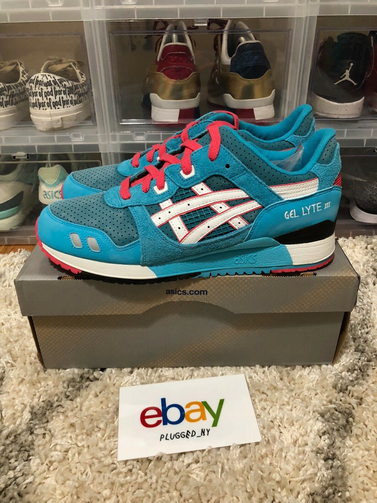 PYS x Asics Gel Lyte 3 Teal Dragons OG OG OG 2011 Pick Your scarpe Sz 9 Brand New DS 227a60