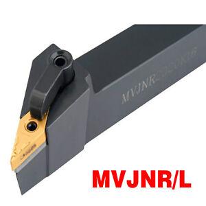MVJNL 2020K16 20×125mm Index External Lathe Turning Holder For VNMG1604 inserts
