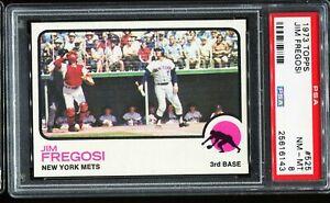 1973-Topps-Baseball-525-JIM-FERGOSI-New-York-Mets-PSA-8-NM-MT