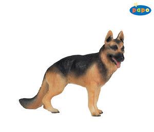 Papo-54004-Schaeferhund-10-5-cm-Bauernhoftiere