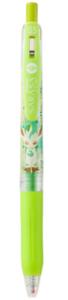 Zebra gel ball pen sarasa clip 0.5 Light green Pokemon Leafeon Ballpoint Pens
