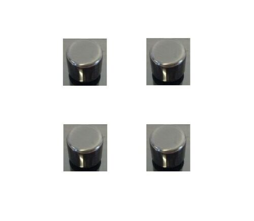 Job Lot x 4 Pewter Dimmer Light Switch Replacement Knobs