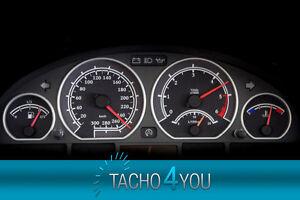 Tachoscheiben-fuer-BMW-300-kmh-Tacho-E46-Diesel-M3-Carbon-3374-Tachoscheibe-km-h