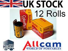 12 Pack: Kodak Colorplus 200 35mm 24 Exposures ISO200 Color Film