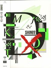 SHINee D×D×D 2016 [CD+DVD+1 Card+48P booklet] New Sealed Limited DxDxD