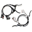 New SHIMANO BRBLM355 M355 Hydraulic Disc Brake Set Front & Rear Black White
