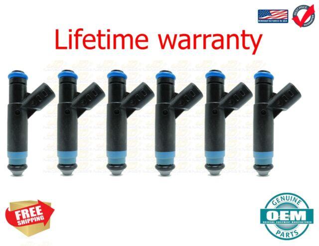 4 HOLE UPGRADE Genuine Bosch 6x Fuel Injectors For B3000 Ranger 3.0 flex fuel