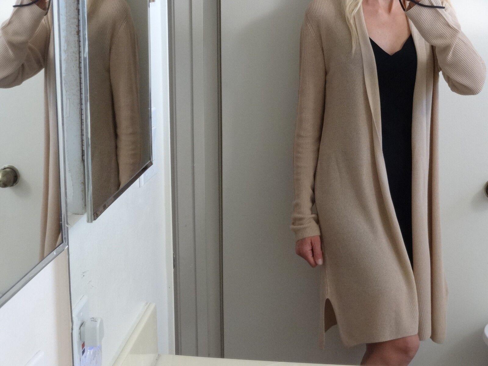 NEW Eileen Fisher Beige Tencel Cardigan(sweater) plus 2X