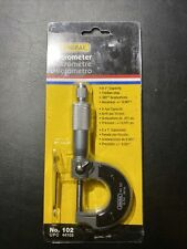 General Tools 0 1 Outside Micrometer 001 Grad No 102