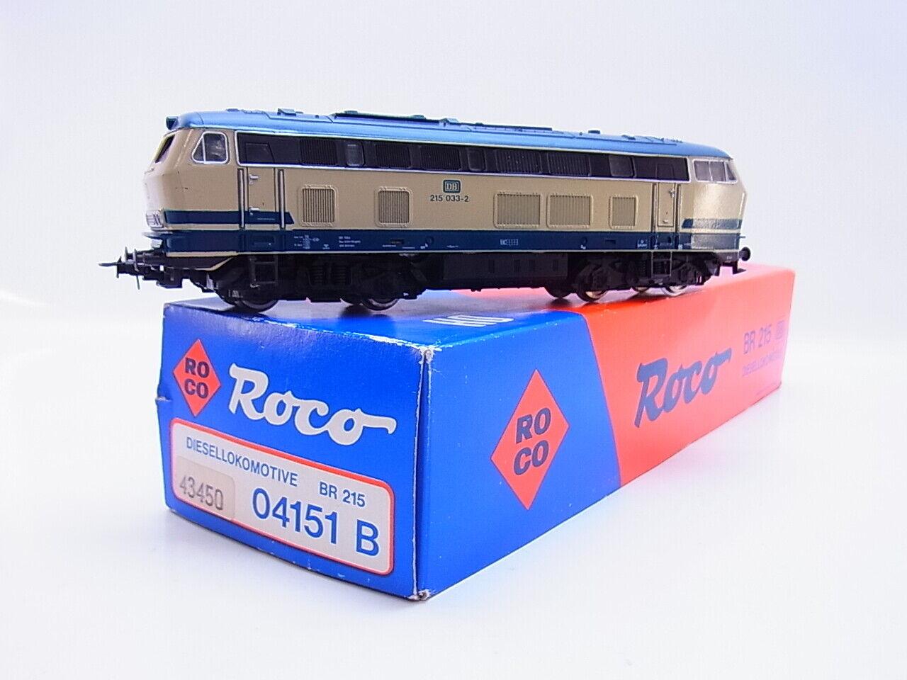 Lot 56313   roco h0 04151b diesellok br 215 de la DB en OVP