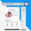 Indexbild 4 - eBay Template Paket: GRAU & BLAU BASIC - 3 Auktionsvorlagen/Designs inkl. EDITOR