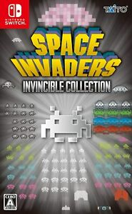 NEW-Nintendo-Switch-Space-Invaders-Invincible-Collection-JAPAN-OFFICIAL-IMPORT
