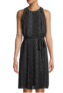 c8239ca77f Image is loading Diane-von-Furstenberg-Women-Black-Ria-Sleeveless-Scalloped-