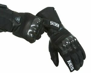 KEIS G502 Premium Heated SPORT Winter Motorcycle Gloves 12v Clearance