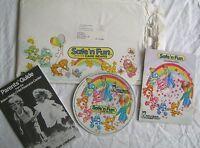 Vintage 1980s Safe N Fun Care Bears Board Game & Record Original Envelope