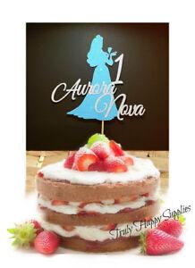 Amazing Disney Princess Birthday Cake Topper Personalise Name Age Birthday Cards Printable Trancafe Filternl