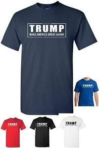 Donald-TRUMP-President-T-Shirt-Make-America-Great-Again-Official-Logo-any-color