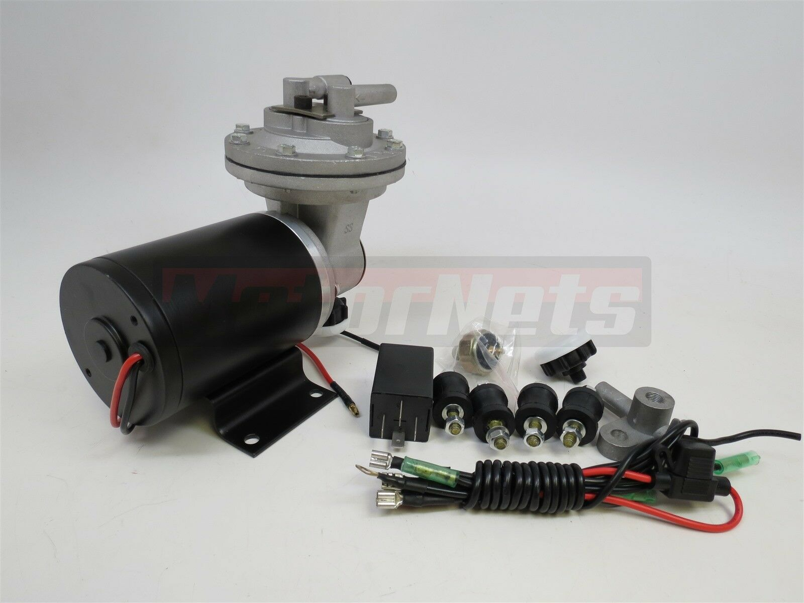Electric Vacuum Pump Kit 18 to 22 for Brake Booster 12v