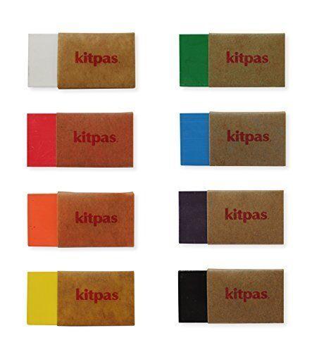 RIKAGAKU Kitpas Block 8 colors KB-8C  New