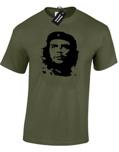 Soccer Mens Ladies Gift Che Guevara Football Style Cuba Revolution T-shirt