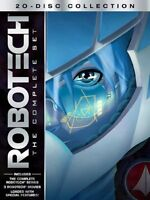 Robotech: The Complete Set (20 Disc Collection) Dvd