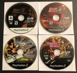 PS2-Game-Lot-Dynasty-Warriors-3-4-5-Dyntasy-Tatics-2