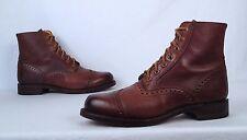 Frye Wingtip Boot- Brown- Size 9 D $498  (BX7)