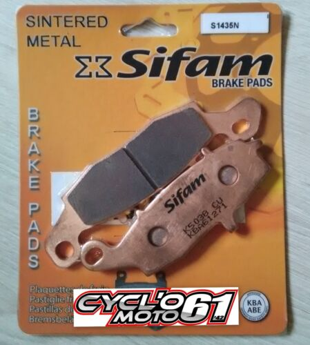 Plaquettes de frein arrière Kawasaki VN 800 Drifter 1999 à 2003 S1435N
