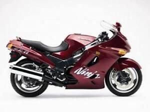 Details about Kawasaki ZZR1100-ZX-11 Ninja 1993-2001 Workshop Manual on