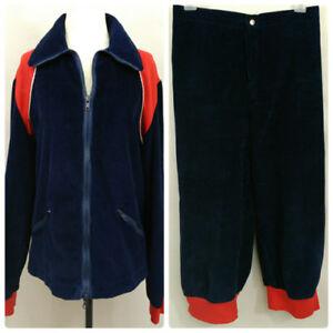 VTG-70s-Cross-Country-Ski-Jacket-Knickers-Blue-Corduroy-Womens-M-28-Waist-Canada
