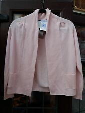 Autograph Marks and Spencer Size 8 Pure Cashmere Cardigan Light Pink - RRP £79