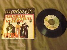 """GRAHAM CENTRAL STATION """"ENTROW Pt 1&2"""" 7"""" WB 1976 Ita RARE"""