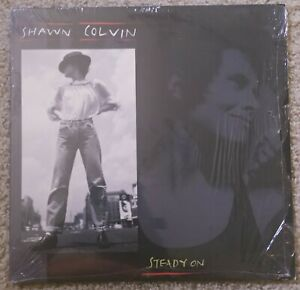 SHAWN-COLVIN-Steady-On-LP-Columbia-FC-45209-Play-Tested-NM