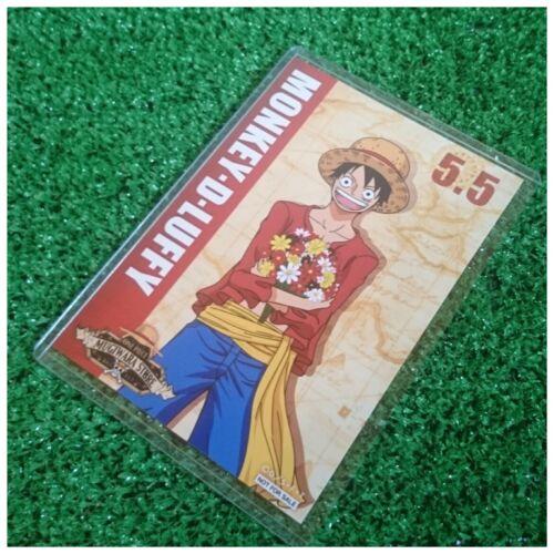 Mugiwara Store One Piece Birthday Celebration Bromide Card Monkey D.Luffy