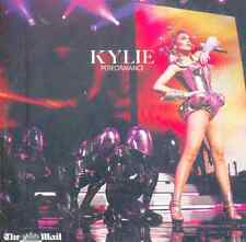 KYLIE MINOGUE: PERFORMANCE - UK PROMO CD (2010) 12 TRACKS - LIVE IN NEW YORK ETC