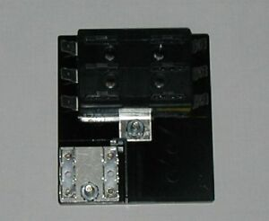 6 fuse panel with grounds uses ato atc fuses ebay. Black Bedroom Furniture Sets. Home Design Ideas