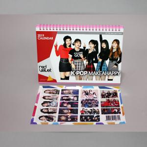 Details about Red Velvet 2019-2020 Photo Desk Calendar Korean KPOP Idol  Sticker Girls Group
