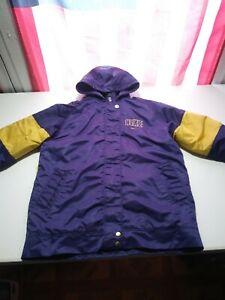 Asado alivio fricción  Nike Winter Jacket Coat Hooded Boys Youth M Purple and Gold | eBay