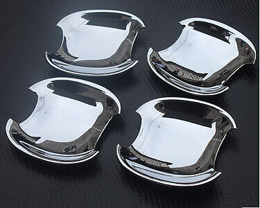 2011-2015 For Kia Sportage R  New ABS Chrome Side Door handle Cover Bowl 4pcs