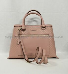 20350a596d77 Gucci Micro Guccissima Medium Top Handle Tote with Detachable Strap ...