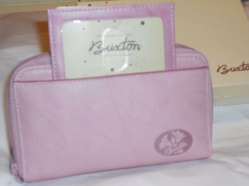 Buxton Heiress Leather Double Zipper Wallet-See Description Link for Pictures